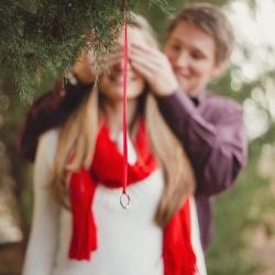 Christmas Proposal Shoot