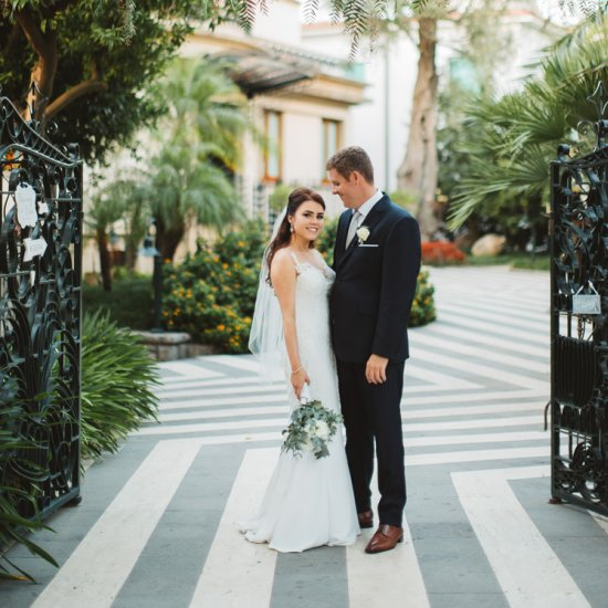 Elegant Stylish Sorrento Wedding