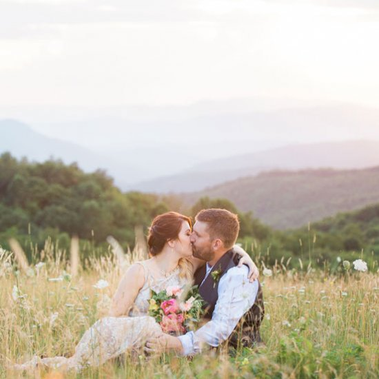 A Magical Mountaintop Elopement