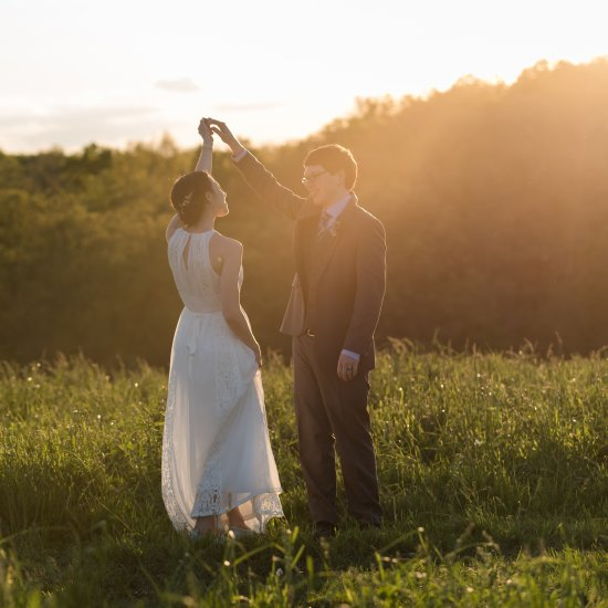 A Rustic and Simple Wedding
